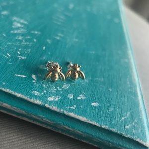 Jewelry - 14k bee Earrings